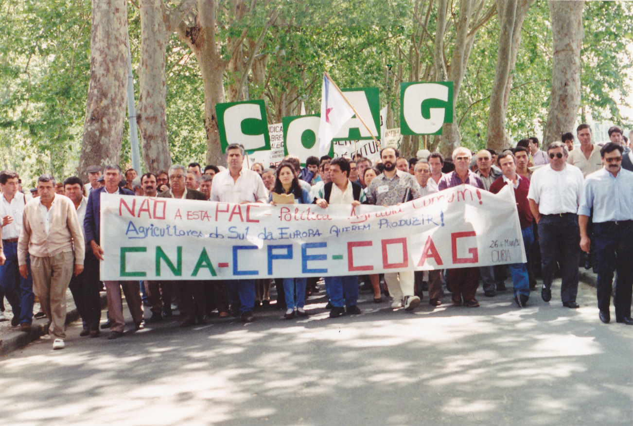1992 portugal demo EU agri informal council 2